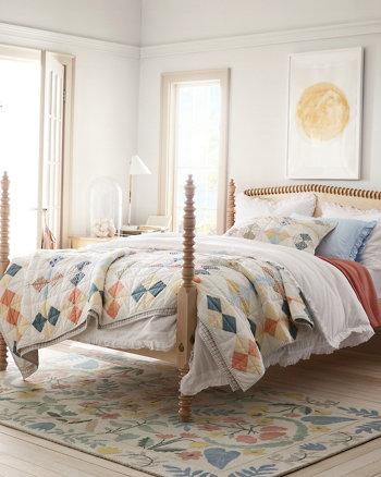 Garnet Hill Quilts and Shams