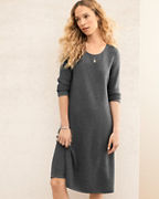 EILEEN FISHER Washable-Wool Sweater Dress