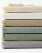Waffle-Weave Organic-Cotton Spa Towels