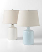 Milk-Jug Glass Table Lamp