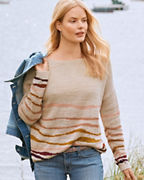 Slouchy Striped Pullover