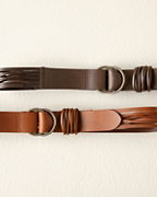 Christina Leather Strap Belt