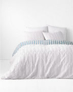 Hable Candlewick Duvet Cover and Sham