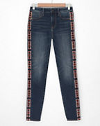 Driftwood Jackie High-Rise Embroidered Jeans