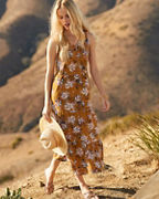Tiered Knit Midi Sundress
