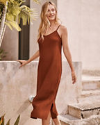 Easy Linen Slip Dress