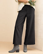 EILEEN FISHER Wide-Leg Flannel Pants