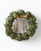 Green Artichoke Wreath