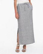 Seaside Linen Maxi Skirt