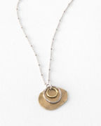 Kristen Mara Mixed-Circle Necklace