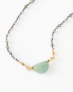 Robindira Unsworth Short Aquamarine Necklace