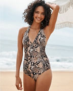Gottex Kalahari Halter One-Piece Swimsuit