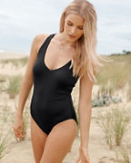 Jantzen Macramé-Back One-Piece Swimsuit
