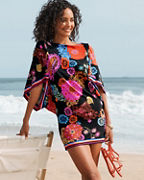 Trina Turk Electric Reef Tunic Cover-Up