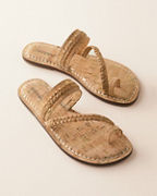 Bernardo Cork Thong Sandals