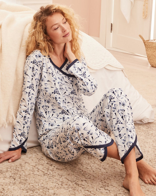 39170b3b0 Asian Wrap Organic-Cotton Pajamas