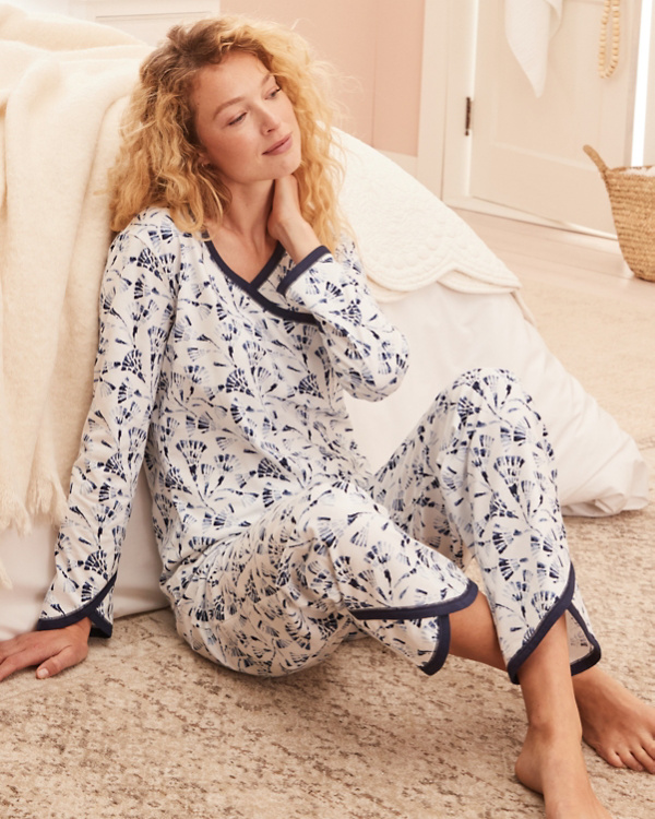 Asian Wrap Organic-Cotton Pajamas 9aef59e83