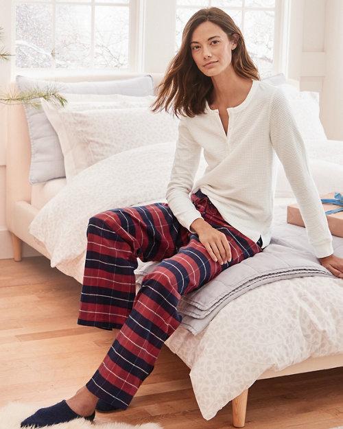 fcf6b01bf3 Organic-Pima-Cotton Flannel Sleep Pants