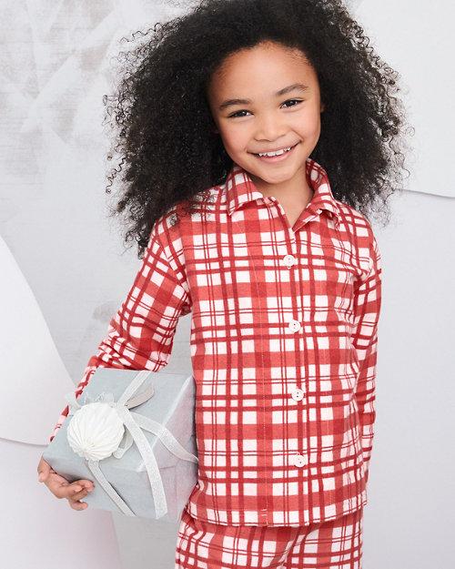 f7b65e75e7b Kids  Flannel Pajama Top